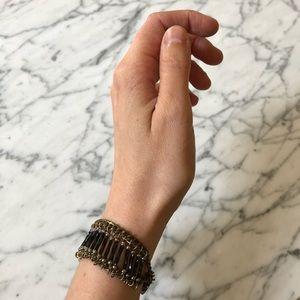 🔥 Vintage Beaded Chain Tassel Bracelet